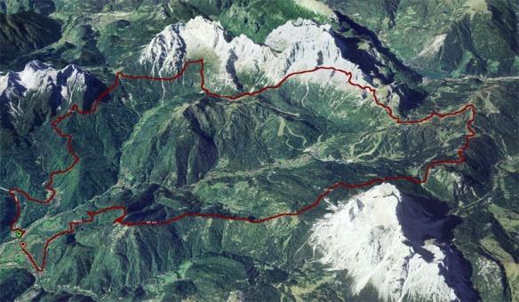 percorso_Dolomiti_extreme_trail_2014